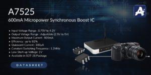 DC-DC Converter A7525 BOOST (STEP-UP)